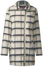 Street One OJP_window Pale Wool Coat, Giubbotto Donna, Weiß (Off White 20108), 46 (Taglia produttore: 40)
