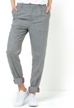 Pantaloni in tweed