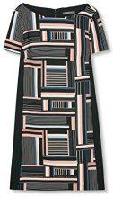 ESPRIT Collection 017eo1e003, Vestito Donna, Nero (Black), 34