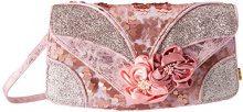 Irregular Choice Peach Melba - Pochette da giorno Donna, Rosa (Pink), 10x16x30 cm (W x H L)