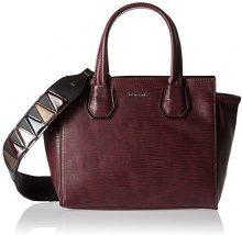 Tamaris Babette Handbag - Borsa Donna, Rot (Vino Comb), 10,5x24x28 cm (B x H T)