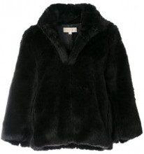 - Michael Michael Kors - Giacchetto in pelliccia sintetica - women - acrilico/fibra sintetica - L, M - di colore nero