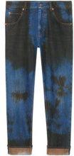 - Gucci - jeans affusolati larghi - men - cotone - 33, 34, 36, 30, 31, 32 - di colore blu
