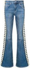 - Kappa - Jeans svasati con logo - women - fibra sintetica/cotone - XS, S, M, L - di colore blu
