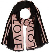 New Look Love, Sciarpa Donna (Black Pattern), Taglia Unica