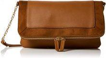 New Look Brandy - Borse a tracolla Donna, Beige (Tan), 5x20x23 cm (W x H L)