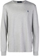 - Polo Ralph Lauren - logo long - sleeve sweater - men - Cotone - XXL, S, M, L, XL - Grigio