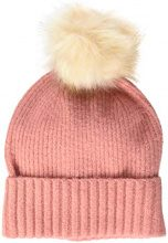 PIECES Pcdiana Wool Hood Noos, Cuffia Donna, Rosa Virtual Pink, Taglia Unica