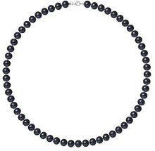 Pearls & Colors Collier Donna - AM18-COL-AG-POT78-M-BL
