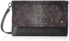 Tom Tailor Denim Mila Vip - Pochette da giorno Donna, Schwarz, 3x18x28 cm (L x H D)