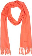 Gant Solid Lambswool Woven Scarf, Sciarpa Donna, Arancione (Atomic Orange), Taglia unica