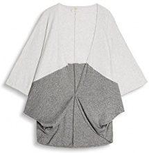 ESPRIT Accessoires 077ea1q009, Poncho Donna, Grigio (Grey 030), Medium