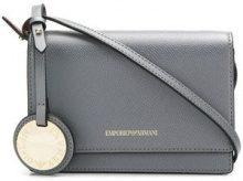 - Emporio Armani - Borsa a tracolla small - women - Polyurethane - Taglia Unica - di colore grigio