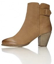 FIND Stivaletto Cowboy Donna, Marrone (Tan), 36 EU