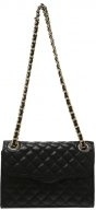MINI AFFAIR - Borsa a tracolla - black/light gold