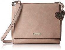 Tamaris Milla Crossbody Bag L - Borse a tracolla Donna, Pink (Rose), 9x28x30 cm (B x H T)