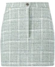 - Natasha Zinko - Camicia ricamata - women - cotone/fibra sintetica/setalana - 34, 36, 38, 40 - di colore verde