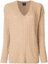 - Polo Ralph Lauren - Maglione - women - lana merino/cashmere - XS - color marrone