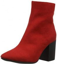 New Look Albert, Stivaletti Donna, Rosso (Bright Red 60), 36 EU