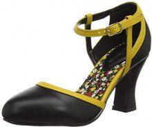 Joe Browns Dainty And Different Shoes, Scarpe con Cinturino alla Caviglia Donna, Nero (Black A), 38 EU