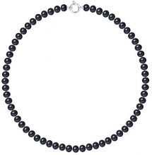Pearls & Colors Collier Donna - AM18-COL-AG-POT78-AML-BL