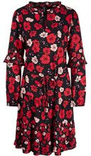 Marc Cain Collections KC 21.41 W44, Vestito Donna, (Ruby 283), 36