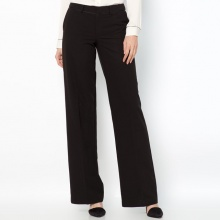Pantaloni in sargia stretch cavallo 82 cm