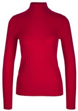 Marc Cain Collections KC 41.50 M53, Maglione Donna, Rosso (Ruby 283), 44