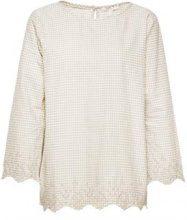 ESPRIT 098ee1f007, Camicia Donna, Grigio (Light Grey 040), 46 (Taglia Produttore: 40)
