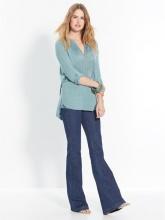 Jeans flare push-up, se sei alto meno di 1,60m