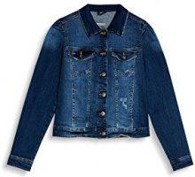 edc by Esprit 077cc1g011, Giacca di Jeans Donna, Blu (Blue Medium Wash 902), Small