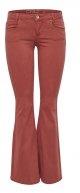 ONRETRO - Jeans a zampa - marsala