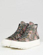 Chuck Taylor All Star Lift Ripple - Sneakers alte a fiori