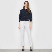 Jeans slim in denim stretch, vita normale, cavallo 81 cm