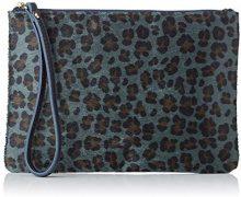 Bensimon Zipped Pocket - Pochette da giorno Donna, Blu (Bleu), 15.5x1x22 cm (W x H L)