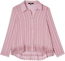 FIND Lace Trim  Camicia Donna, Rosa (Old Rose), 44 (Taglia Produttore: Medium)