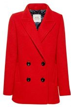 edc by Esprit 098cc1g020, Giubbotto Donna, Rosso (Red 630), Large