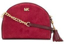 - Michael Michael Kors - Borsa a tracolla con zip - women - pelle/pelle scamosciata - Taglia Unica - di colore rosso