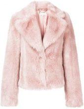 - Patrizia Pepe - Giacca crop - women - fibra sintetica - 46 - di colore rosa