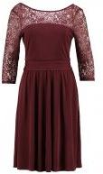 SPECIAL - Vestito di maglina - bordeaux red