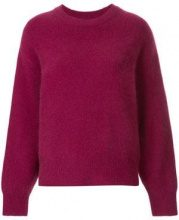 - H Beauty&Youth - long - sleeve fitted sweater - women - Wool - OS - Rosa & viola