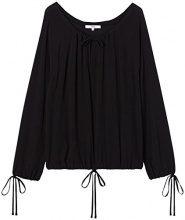 FIND Oversized  Camicia Donna, Nero (Black), 50 (Taglia Produttore: XX-Large)