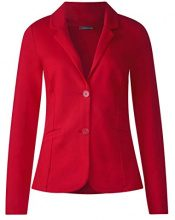 Street One 210743 Jordis, Giacca Donna, Rot (Pure Red 11496), 46