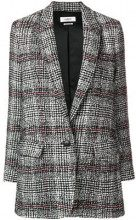 - Isabel Marant Étoile - Giacca ice tweed - women - lana vergine/acrilico/fibra sintetica/fibra sinteticalana - 40, 42 - di colore nero
