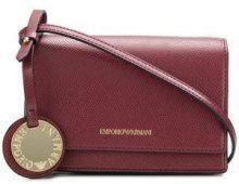 - Emporio Armani - Borsa a tracolla small - women - Polyurethane - Taglia Unica - Rosso