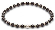 Kimura Pearls Bracciale elastico Donna oro_giallo - A-AMONYX001