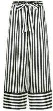 - Nobody Denim - Silk Stripe Pant Riviera - women - seta Mulberry/fibra sintetica - L, XS , S, M - di colore bianco