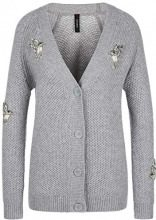 Marc Cain Collections KC 31.46 M85, Cardigan Donna, (Grey 820), 48