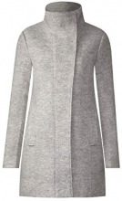 Street One 201171 Desi, Cappotto Donna, Grau (Soft Grey Melange 11358), 40