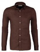 Pier One SLIM FIT Camicia elegante brown